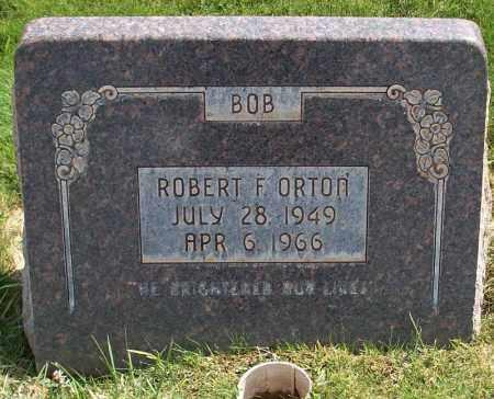 ORTON, ROBERT FENTON - Iron County, Utah   ROBERT FENTON ORTON - Utah Gravestone Photos