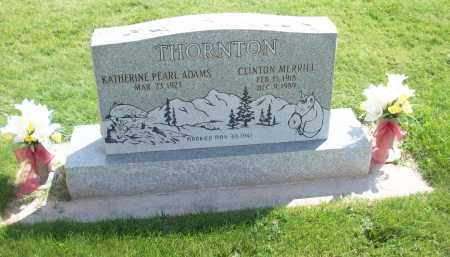 ADAMS, KATHERINE PEARL - Iron County, Utah | KATHERINE PEARL ADAMS - Utah Gravestone Photos