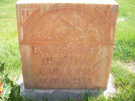 BENTLEY, EVA LAVERNE - Iron County, Utah | EVA LAVERNE BENTLEY - Utah Gravestone Photos