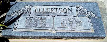 VEST ELLERTSON, ZELLA - Juab County, Utah | ZELLA VEST ELLERTSON - Utah Gravestone Photos