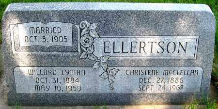 ELLERTSON, WILLARD LYMAN - Juab County, Utah | WILLARD LYMAN ELLERTSON - Utah Gravestone Photos