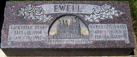 VEST EWELL, MARY LUCILLE - Juab County, Utah | MARY LUCILLE VEST EWELL - Utah Gravestone Photos