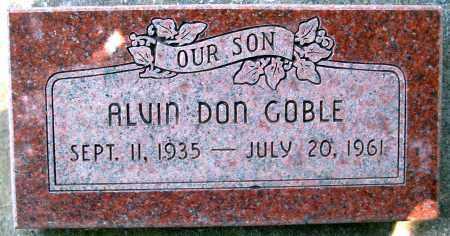 GOBLE, ALVIN DON - Juab County, Utah   ALVIN DON GOBLE - Utah Gravestone Photos