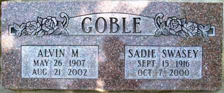 GOBLE, ALVIN M. - Juab County, Utah | ALVIN M. GOBLE - Utah Gravestone Photos