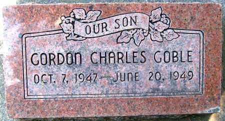 GOBLE, GORDON CHARLES - Juab County, Utah | GORDON CHARLES GOBLE - Utah Gravestone Photos