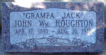 HOUGHTON, JOHN WILLIAM - Juab County, Utah | JOHN WILLIAM HOUGHTON - Utah Gravestone Photos