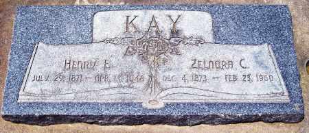 KAY, ZELNORA C. - Juab County, Utah | ZELNORA C. KAY - Utah Gravestone Photos