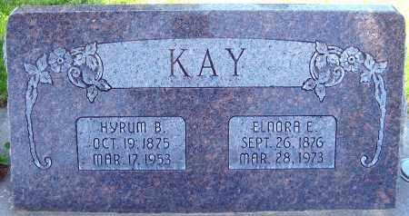 KAY, HYRUM B. - Juab County, Utah | HYRUM B. KAY - Utah Gravestone Photos