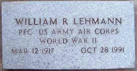 LEHMANN, WILLIAM R - Juab County, Utah | WILLIAM R LEHMANN - Utah Gravestone Photos