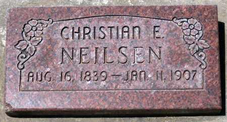 NEILSEN, CHRISTIAN E. - Juab County, Utah   CHRISTIAN E. NEILSEN - Utah Gravestone Photos