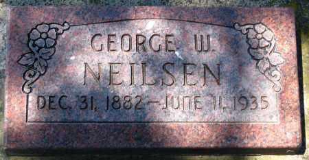 NEILSEN, GEORGE W. - Juab County, Utah | GEORGE W. NEILSEN - Utah Gravestone Photos