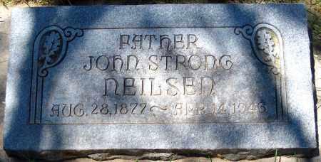NEILSEN, JOHN STRONG - Juab County, Utah | JOHN STRONG NEILSEN - Utah Gravestone Photos