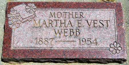 VEST, MARTHA E - Juab County, Utah | MARTHA E VEST - Utah Gravestone Photos