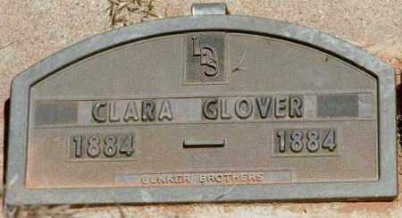 GLOVER, CLARA ANNA - Kane County, Utah   CLARA ANNA GLOVER - Utah Gravestone Photos