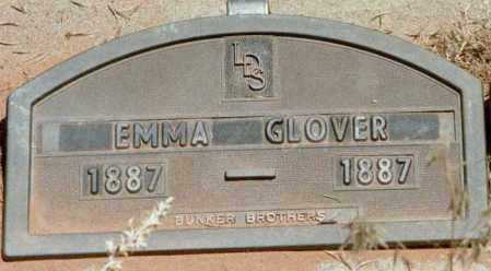 GLOVER, EMMA - Kane County, Utah | EMMA GLOVER - Utah Gravestone Photos