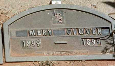 GLOVER, MARY - Kane County, Utah | MARY GLOVER - Utah Gravestone Photos
