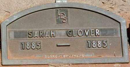 GLOVER, SARAH ALICE - Kane County, Utah | SARAH ALICE GLOVER - Utah Gravestone Photos