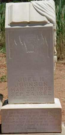 JOHNSON, JOEL HILLS - Kane County, Utah   JOEL HILLS JOHNSON - Utah Gravestone Photos