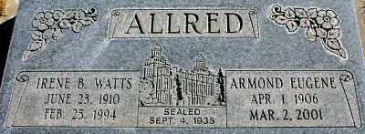 ALLRED, ARMOND EUGENE - Millard County, Utah | ARMOND EUGENE ALLRED - Utah Gravestone Photos