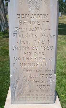 BENNETT, BENJAMIN - Millard County, Utah | BENJAMIN BENNETT - Utah Gravestone Photos