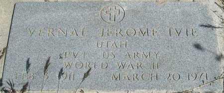 IVIE, VERNAL JEROME - Millard County, Utah | VERNAL JEROME IVIE - Utah Gravestone Photos