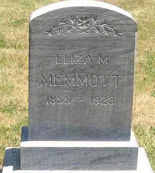 MONROE MEMMOTT, ELIZA - Millard County, Utah | ELIZA MONROE MEMMOTT - Utah Gravestone Photos