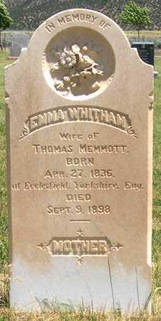 WHITHAM, EMMA - Millard County, Utah | EMMA WHITHAM - Utah Gravestone Photos