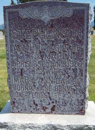 BENNETT STEPHENSON, MARY ANN - Millard County, Utah | MARY ANN BENNETT STEPHENSON - Utah Gravestone Photos