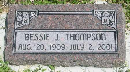THOMPSON, BESSIE J. - Millard County, Utah | BESSIE J. THOMPSON - Utah Gravestone Photos