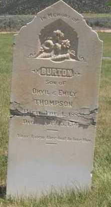 THOMPSON, BURTON - Millard County, Utah   BURTON THOMPSON - Utah Gravestone Photos