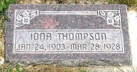 THOMPSON, IONA - Millard County, Utah | IONA THOMPSON - Utah Gravestone Photos