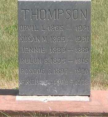 MONROE THOMPSON, SUSAN - Millard County, Utah | SUSAN MONROE THOMPSON - Utah Gravestone Photos
