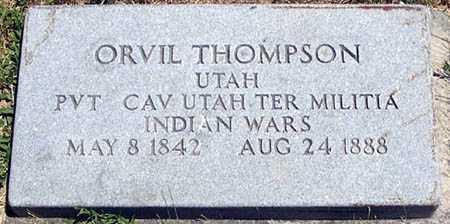 THOMPSON, ORVIL - Millard County, Utah   ORVIL THOMPSON - Utah Gravestone Photos