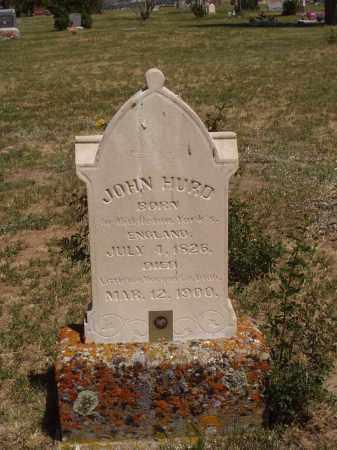 HURD, JOHN - Morgan County, Utah | JOHN HURD - Utah Gravestone Photos