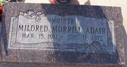 MORRILL, MILDRED - Piute County, Utah | MILDRED MORRILL - Utah Gravestone Photos