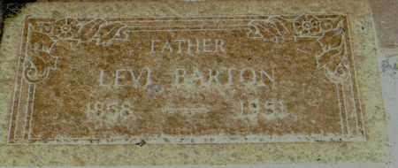BARTON, LEVI LORENZO - Piute County, Utah | LEVI LORENZO BARTON - Utah Gravestone Photos
