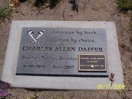 DAFFER, CHARLES ALLEN - Piute County, Utah | CHARLES ALLEN DAFFER - Utah Gravestone Photos