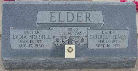 ELDER, GEORGE HENRY - Piute County, Utah | GEORGE HENRY ELDER - Utah Gravestone Photos