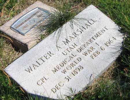 MARSHALL (WWI), WALTER ALLEN - Piute County, Utah | WALTER ALLEN MARSHALL (WWI) - Utah Gravestone Photos