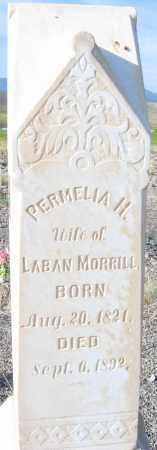 MORRILL, PERMELIA HANDMORE - Piute County, Utah   PERMELIA HANDMORE MORRILL - Utah Gravestone Photos