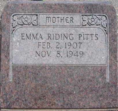 RIDING, EMMA - Piute County, Utah | EMMA RIDING - Utah Gravestone Photos