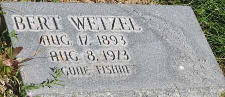 WETZEL, BERT - Piute County, Utah | BERT WETZEL - Utah Gravestone Photos