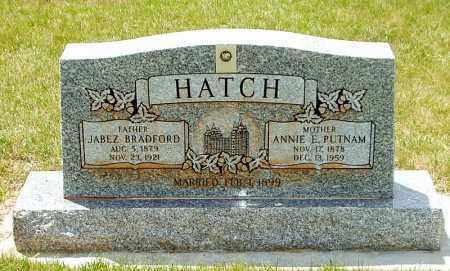 HATCH, JABEZ BRADFORD - Rich County, Utah | JABEZ BRADFORD HATCH - Utah Gravestone Photos