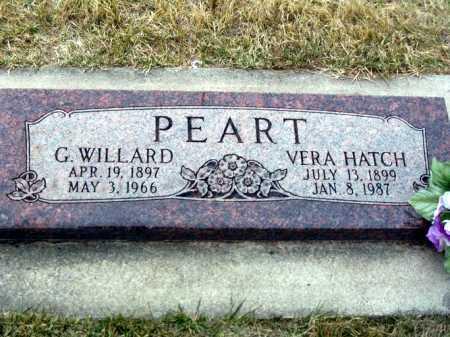 PEART, VERA ELIZABETH - Rich County, Utah | VERA ELIZABETH PEART - Utah Gravestone Photos