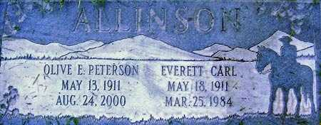 PETERSON, OLIVE EDITH - Salt Lake County, Utah | OLIVE EDITH PETERSON - Utah Gravestone Photos
