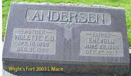 GARDNER, VIOLETTE EDNA - Salt Lake County, Utah   VIOLETTE EDNA GARDNER - Utah Gravestone Photos
