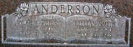 SMITH ANDERSON, LILLIAN - Salt Lake County, Utah | LILLIAN SMITH ANDERSON - Utah Gravestone Photos