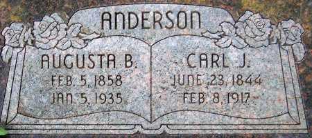 ANDERSON, CARL JOHAN - Salt Lake County, Utah | CARL JOHAN ANDERSON - Utah Gravestone Photos