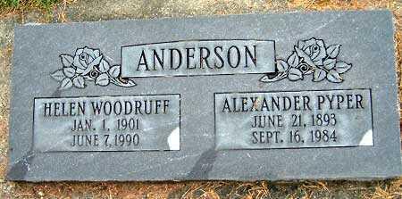 ANDERSON, HELEN MAR - Salt Lake County, Utah   HELEN MAR ANDERSON - Utah Gravestone Photos
