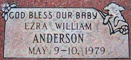 ANDERSON, EZRA WILLIAM - Salt Lake County, Utah | EZRA WILLIAM ANDERSON - Utah Gravestone Photos
